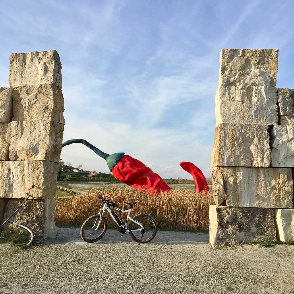 Suggestive places - Biking Tuscany Tour