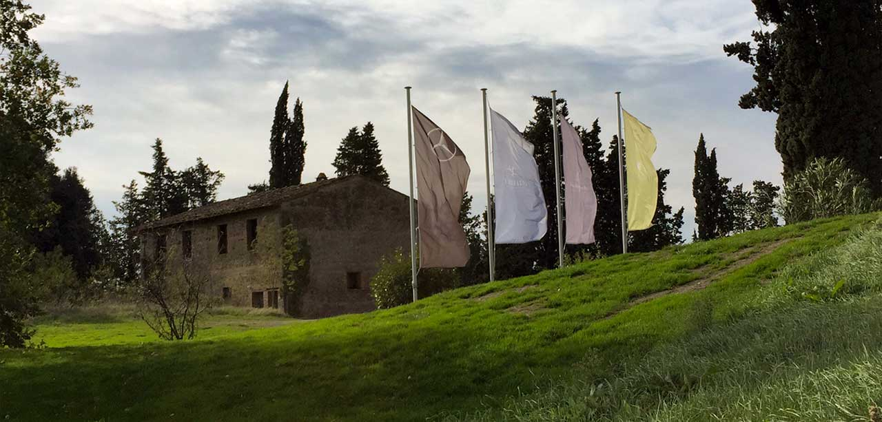 Castelfalfi golf - Biking Tuscany Tour