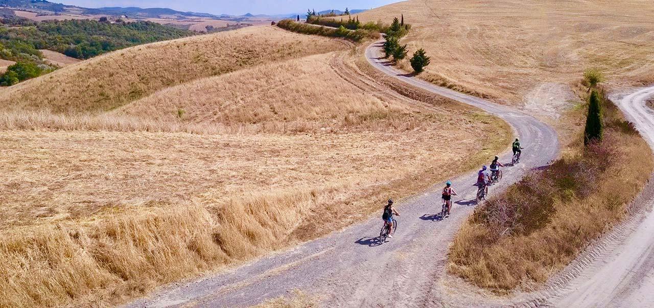 High views - Biking Tuscany Tour