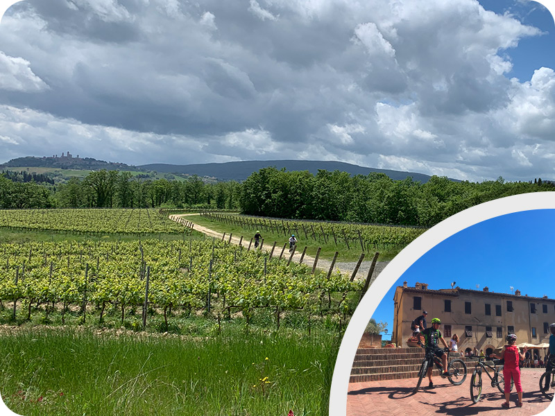 "San Gimignano bike tour ""Discover the City of Towers"""