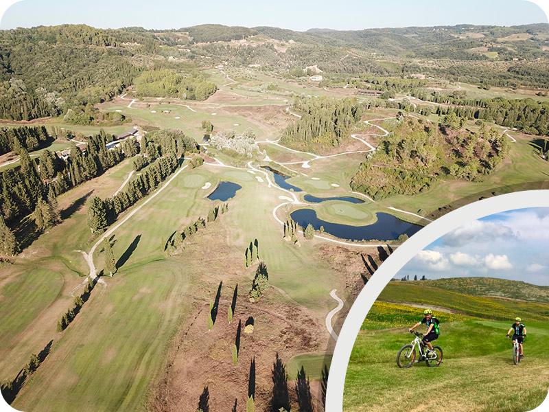 "Tuscany bike tour ""Castelfalfi Natural Reserve"""