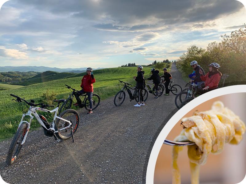 "Tuscany bike tour ""Truffle day experience"""