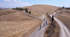 Tuscany cycling tour - Organic farm food and wine experience